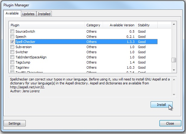download aspell