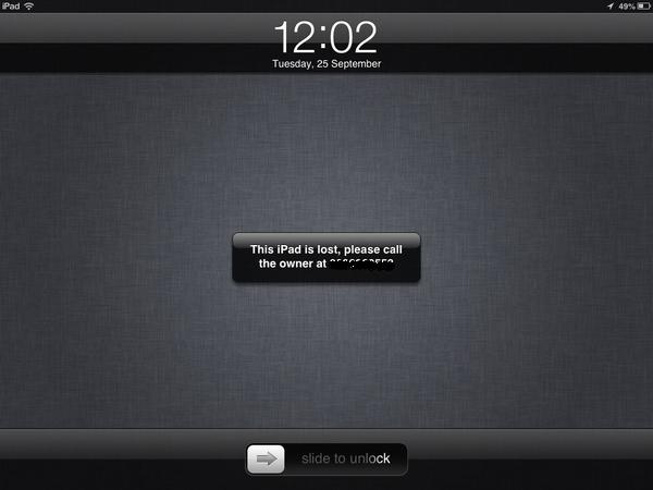 how to break into a locked ipad