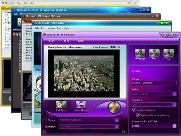 3herosoft Media Toolkit Ultimate
