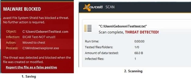 Test your Antivirus Software if Properly Working   Geboren ®